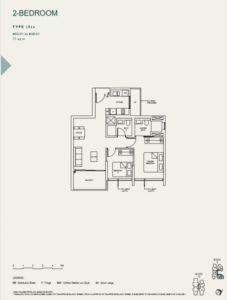 the-avenir-type-2-a-floor-plan-Singapore