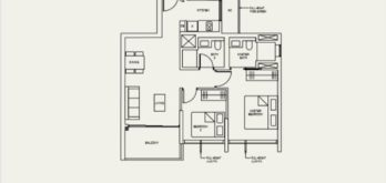 the-avenir-type-2-a-floor-plan-Singapore