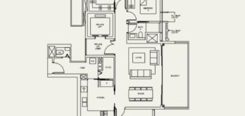the-avenir-type-3L-a-floor-plan-Singapore