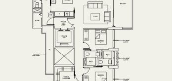 the-avenir-type-4-a-floor-plan-Singapore